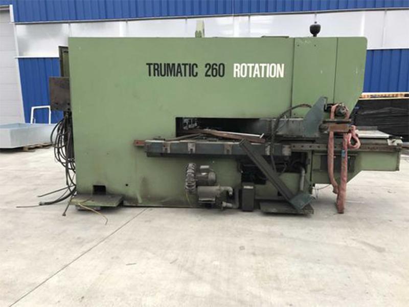 CNC Stanz und Nibbelmaschine Trumpf TC 260 Rotation